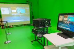 Vidéoprojection plateau